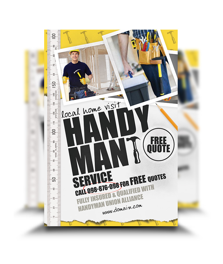 Handy Man Flyer  PetitComingoutpolyCo