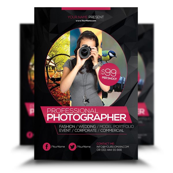 Photographer Flyer
